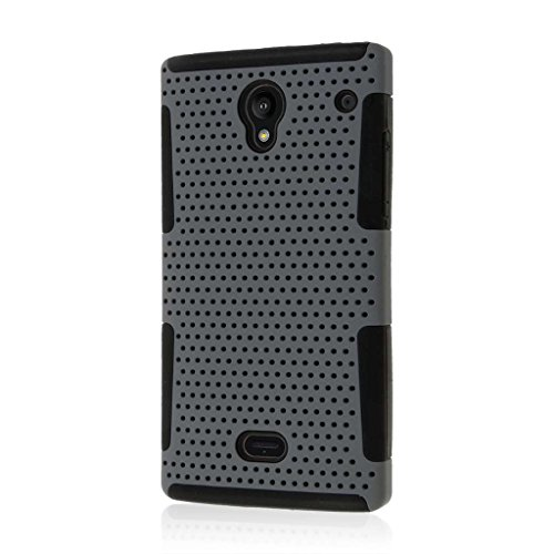 Sharp Aquos Crysta Case, MPERO Fusion M Series Protective Case for Sharp Aquos Crystal 306SH - Gray