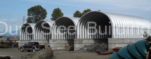 Duro Span Prefabricated Steel Arch Metal Garage Kit S20 X 30 X 14 from Duro