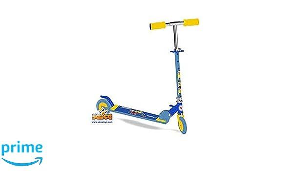 Saica - Patinete de dos ruedas Minions: Amazon.es: Juguetes ...