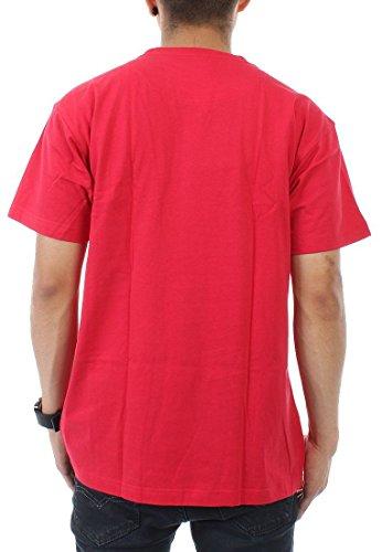 Mitchell & Ness Team Logo Traditional T-Shirt Men CHICAGO BULLS Rot
