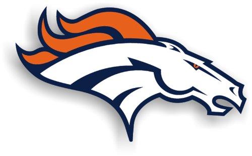 Fremont Die NFL Denver Broncos 12-Inch Vinyl Logo Magnet ()