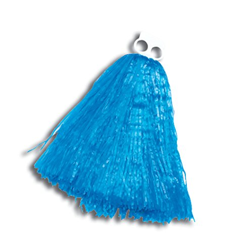 (Bristol Novelty BA162 Pom Cheerleader Accessory, Womens, Blue, One)