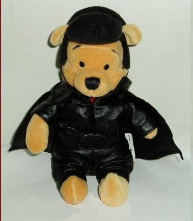 Winnie the Pooh Mini Bean Bag 50's DISNEY STORE 8
