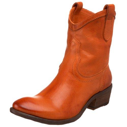 Boot Carson Women's Shortie Orange Ankle FRYE 0wqzU