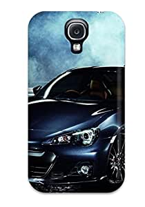 New Style Rugged Skin Case Cover For Galaxy S4- Eco-friendly Packaging(subaru Brz 24)