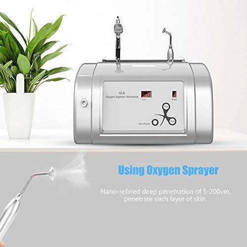 Oxygen Injection Machine Oxygen Spray Water Injection Hydrate Jet Skin Rejuvenation Beauty Machine(White) by Brrnoo (Image #6)