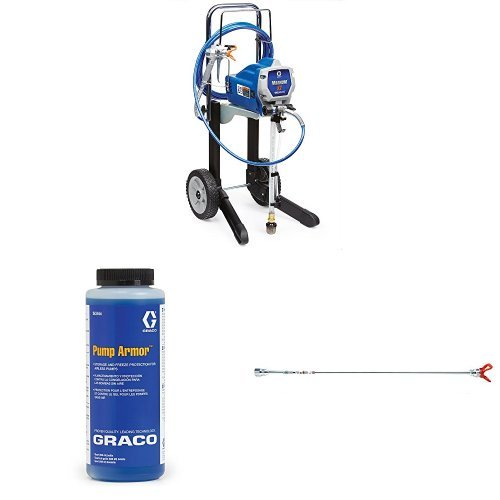 Graco Magnum X7 Paint Sprayer Kit with Pump Armor and Tip Extension