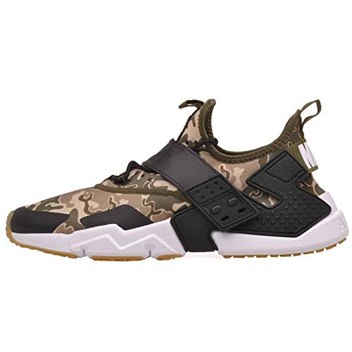 Nike Men's Air Huarache Drift Premium Running Shoe, Olive Canvas/Black-Canteen-Desert Ore, 9.5
