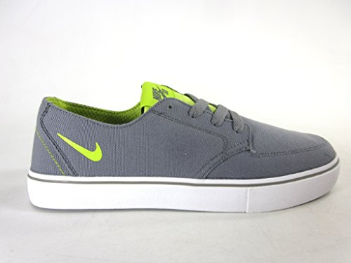 Nike Mens Braata Lr Canvasschoenen, Med Base Grijs / Gifgroen / Zwart, Us Maat 6.5 M