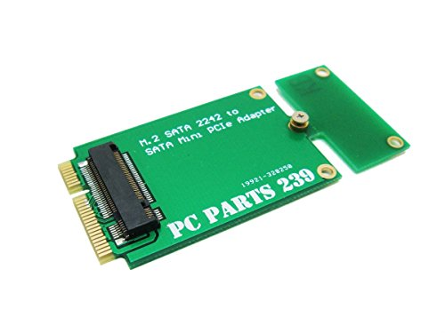 Sintech M.2 NGFF 22x42 Adapter As 3x7cm Mini PCI-e SATA SSD for Asus Eee PC 1000 S101 900 901 900A T91 - Eee Pc Ssd