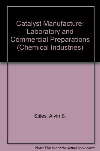 Catalyst Manufacture: Laboratory and Commercial Preparations (Chemical Industries)