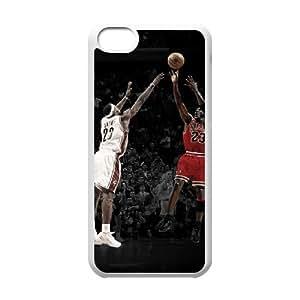 SHJFDIYCase Design Customized Michael Jordan Durable Hard Plastic Case Cover for Iphone 5C, Customized Phone Case SHJF-527092