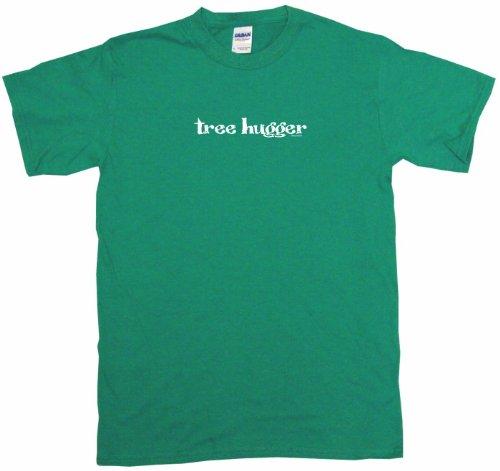 Tree Hugger Men's Tee Shirt 3XL-Kelly (Tree Hugger Tank)