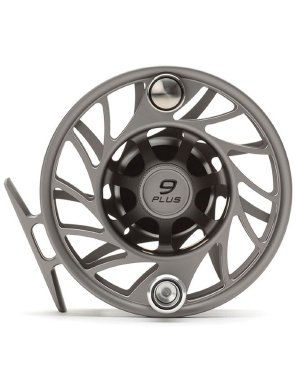 Hatch Gen 2 Finatic 9 Plus Fly Reel, Gray/Black, Mid Arbor