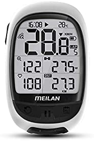 MEILAN Oval GPS Core Bike Computer M2 Bike GPS Speedometer Cycle Computer Bicycle Computer Bluetooth ANT+ Supp