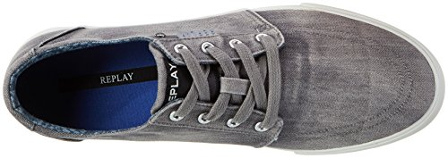 Replay Herren Kolen Sneaker Grau (Grey)