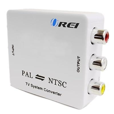 OREI MX-100 Compact PAL/NTSC Video Converter Composite Connection NTSC TO PAL or PAL to NTSC Video Conversion