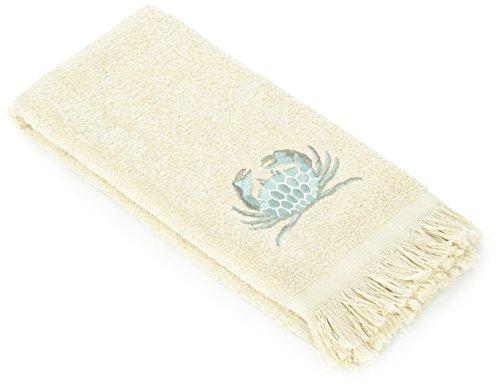 Avanti Portland Fingertip Towel, Linen