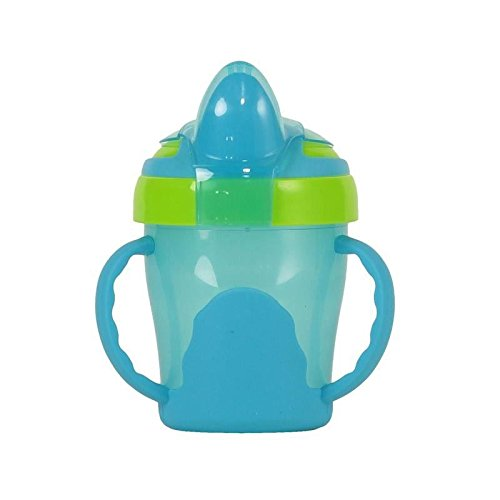 Vital Baby Soft Spout Trainer Cup, Blue - Pack of 6