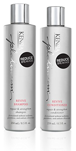 Kenra Platinum Revive Shampoo and Conditioner Set, 8.5-Ounce