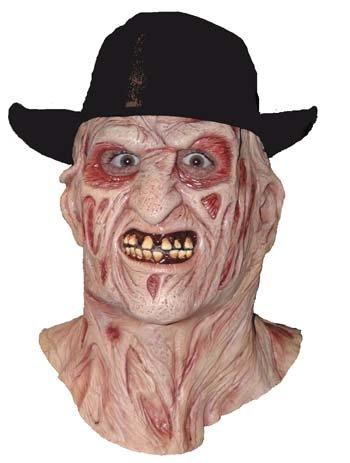Nightmare on Elm Street Freddy Krueger Mask with Hat (Freddy Mask)