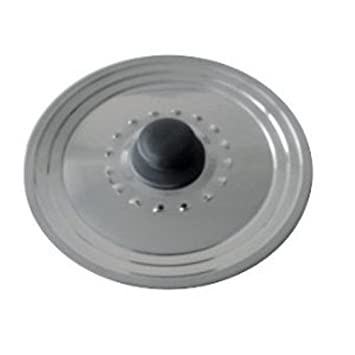 Baumalu 342722 - Tapa con agujeros para vapor de acero inoxidable: Amazon.es: Hogar