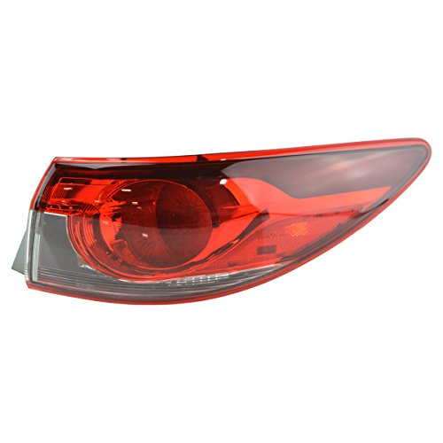 Outer Quarter Panel Mounted Tail Light Lamp Passenger Side RH for Mazda 6