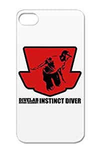 Divelab Football Sports Red Case For Iphone 4 Pwts 00