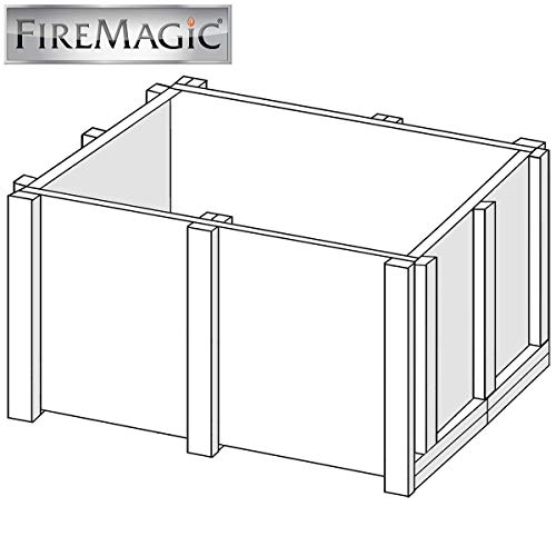 Fire Magic Insulated Jacket For Deluxe Classic Countertop Grills ()