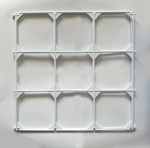9 Cells Plastic Balloon Grids For Balloon Wall Art - 10 (Balloon Wall)