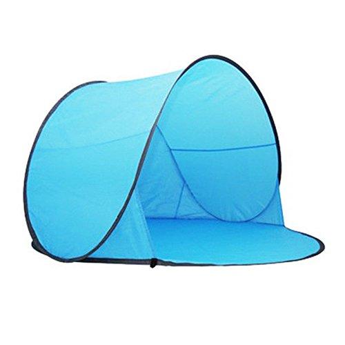 HOT SALE! Portable Pop Up Tent Outdoor Camping Beach Canopy Fishing Sun Shade Shelter (148 x 148 x 90cm, Sky - Sunglasses Sports Polar