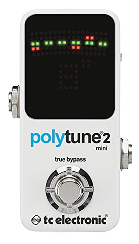Board Chromatic Guitar Tuner (TC Electronic Polytune 2 Mini Pedal Tuner)