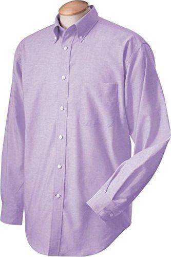 Chestnut Hill Performance Plus Oxford Shirt, light lavender, Large