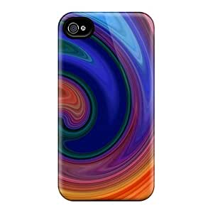 New Shockproof Protection Case Cover For Iphone 4/4s/ Swirly Candy Case Cover