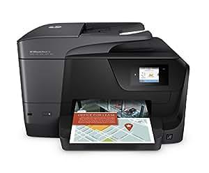 HP OfficeJet Pro - Impresora multifunción (Inyección de tinta térmica, Colour printing, Colour copying, Colour scanning, Colour faxing, 25000 páginas por mes)