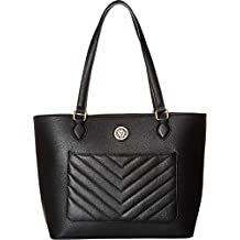 Anne Klein Womens Quilted Tote