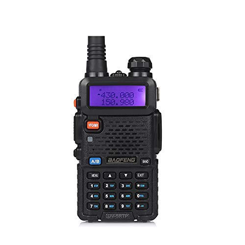 (Baofeng UV-5RTP Tri-Power 8/4/1W Two-Way Radio Transceiver (Upgraded Version of UV-5R with Tri-Power), Dual Band 136-174/400-520MHz True 8W High Power Two-Way Radio)