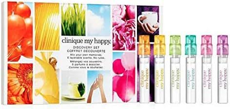 Clinique My Happy Discovery Six-Piece Fragrance Mini Set 0.05 oz each
