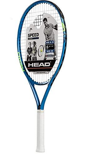 """HEAD Speed Kids Tennis Racquet - Beginners Pre-Strung Head Light Balance Jr Racket - 25"""", Blue"""