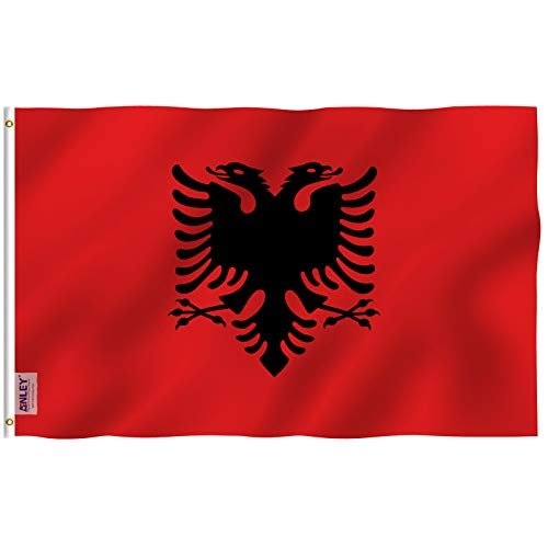 Anley Fly Breeze 3x5 Foot Albania Flag