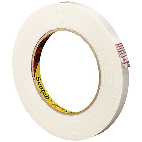 Top Pack Supply 3M 897 Strapping Tape, 6.0 Mil, 3/8