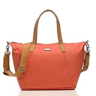 Storksak Noa Shoulder Bag Diaper Bag with Organizer, Coral