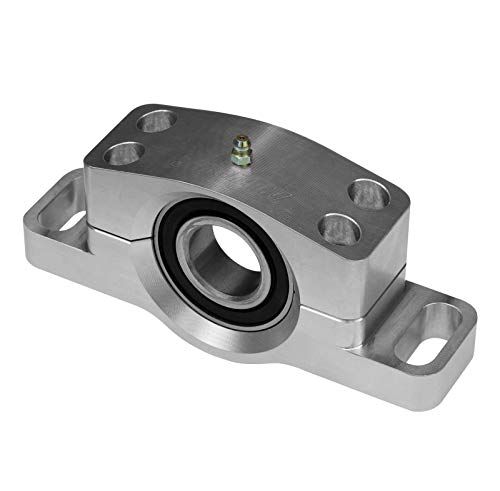 (SuperATV Heavy Duty Billet Aluminum Carrier Bearing for Polaris RZR XP Turbo (2016+) - Greaseable and Self)