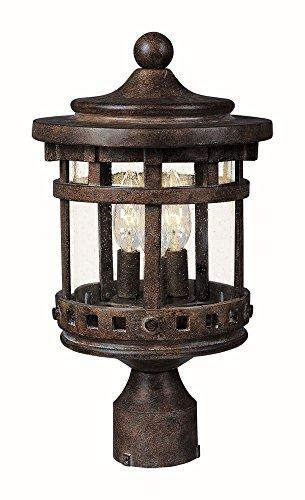 Outdoor Lamp Post Santa - 1