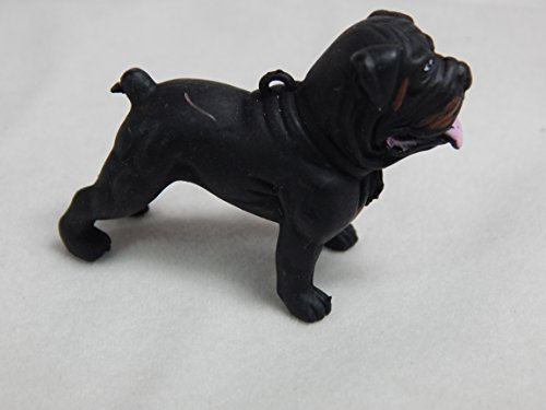 Dollhouse Miniature Animal 1:12 Scale Dog Puppy Bulldog #Z267