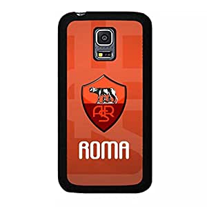 Samsung Galaxy S5 Mini New Skin As Roma Football Club Logo Hard Phone Case Football Team Logo