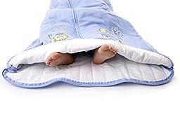 Kids Winter Sleep Sack Long Sleeves 3.5 Tog Choo Choo 3-6 yrs/XL