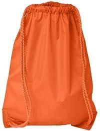 Boston Drawstring Backpack_Orange_One