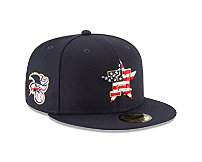 New Era Houston Astros 2018 July 4th Stars and Stripes 59FIFTY On Field Fitted Hat