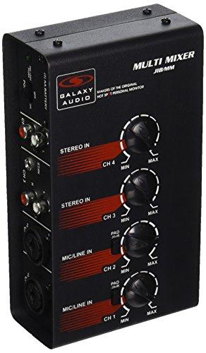 Galaxy Audio JIBMM 4 Channel Battery Operated by Galaxy